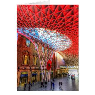 Cartão Reis Cruz Estação Londres