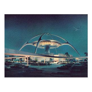 Cartão RELAXADO do aeroporto de Los Angeles do