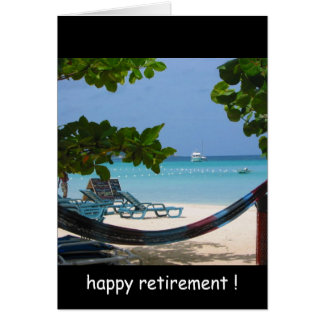 Cartão relaxin da aposentadoria