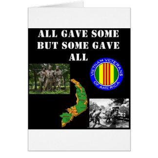Cartão Relembrança de Vietnam