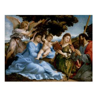 Cartão religioso da arte cartão postal