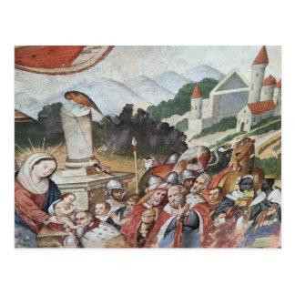 Cartão religioso da arte do vintage cartão postal