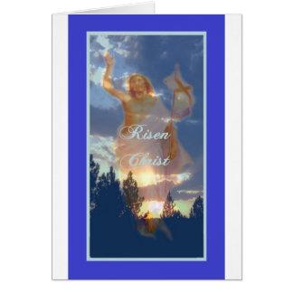 Cartão religioso da páscoa