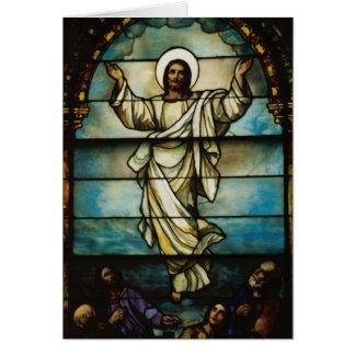 Cartão religioso de Gretting