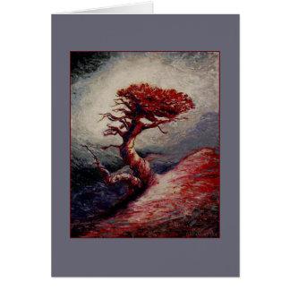 Cartão Relíquia da montanha