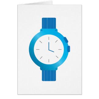 Cartão Relógio de pulso