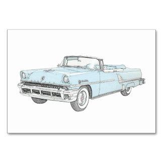 Cartão Rendição 1955 de Mercury Montclair do Convertible