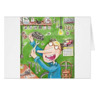 Cartão Reparo do Lawnmower