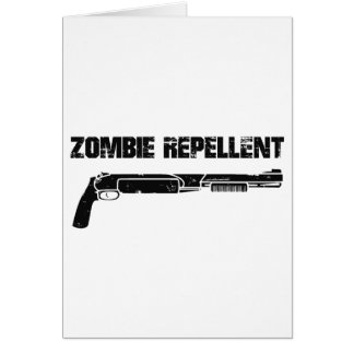 Cartão Repellent do zombi