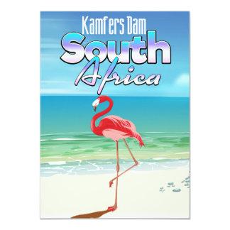 Cartão Represa de Kamfers sul - poster de viagens