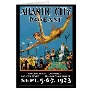 Cartão: Representação histórica de beleza de Atlan