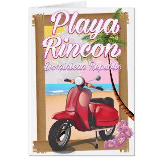Cartão República Dominicana de Playa Rincon