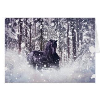 Cartão Respingo da neve