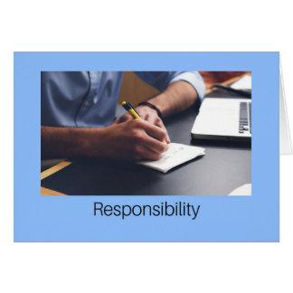 Cartão Responsabilidade