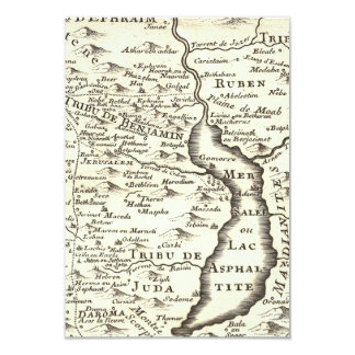 Cartão Resposta antiga de Mitzvah RSVP do bar do mapa de