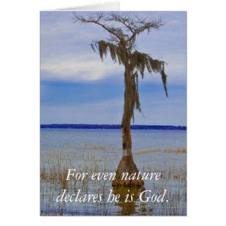 Cartão Ressurreição cristã domingo/cartão de páscoa