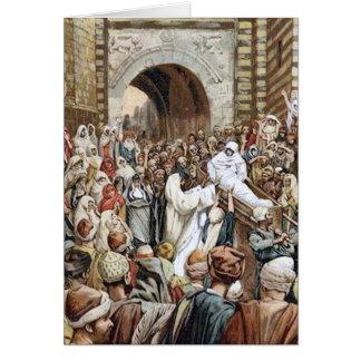 Cartão Ressurreição em Nain - companheiro