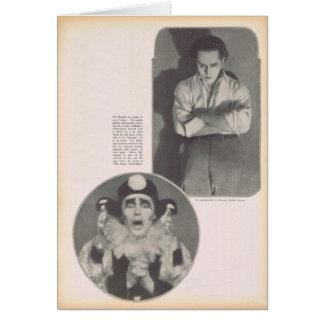 Cartão Retrato 1922 do vintage de Theodore Kosloff