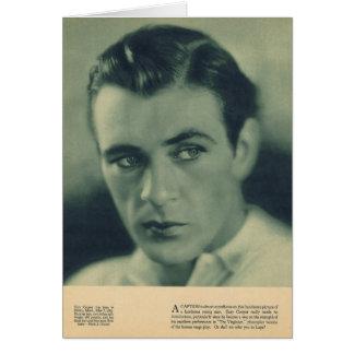 Cartão Retrato 1930 do tanoeiro de Gary