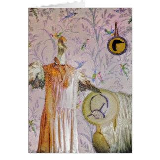 Cartão Retrato da Sra. Smew