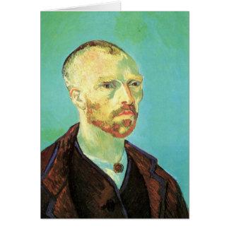 Cartão Retrato de auto de Van Gogh (dedicado a Paul