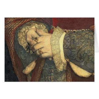 Cartão Retrato de Jane Seymour, 1536