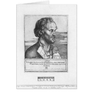 Cartão Retrato de Philipp Melanchthon, 1526