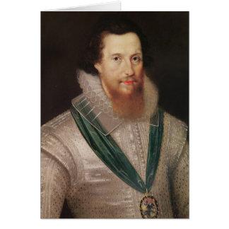 Cartão Retrato de Robert Devereux c.1596