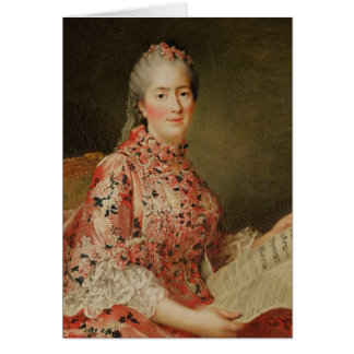 Cartão Retrato de Victoire de France