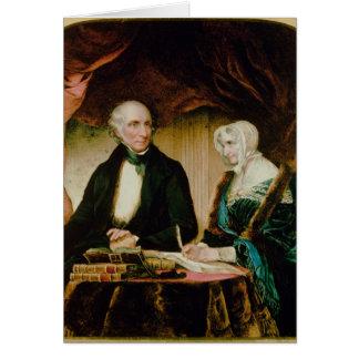Cartão Retrato de William e de Mary Wordsworth, 1839
