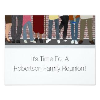 Cartão Reunião de família