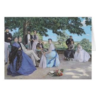 Cartão Reunião de família, 1867