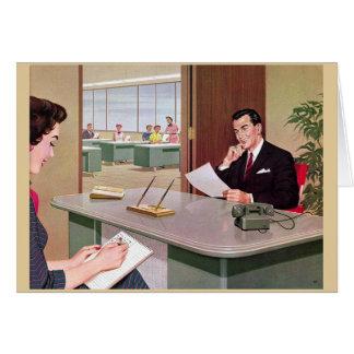 Cartão Reuniões demais,
