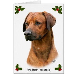 Cartão Rhodesian Ridgeback 9Y338D-039