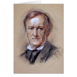 Cartão Richard Wagner - gênio da música