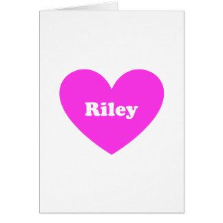 Cartão Riley