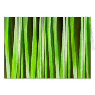 Cartão Riverweed verde tropical