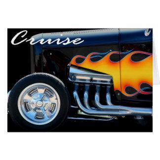 Cartão Roadster de Cruisin