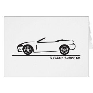 Cartão Roadster de Jaguar XK