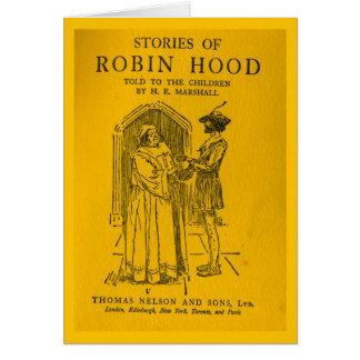 Cartão Robin Hood como disse