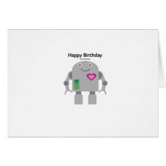 Cartão Robô