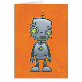 Cartão Robô parvo