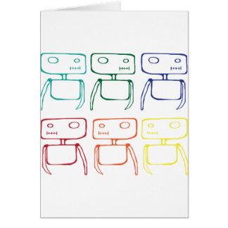 Cartão Robôs
