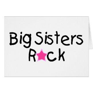 Cartão Rocha das irmãs mais velha