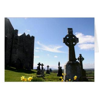 Cartão Rocha de cruzes altas de Cashel