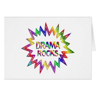 Cartão Rochas do drama