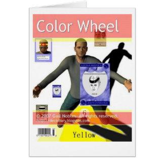 Cartão Roda de cor