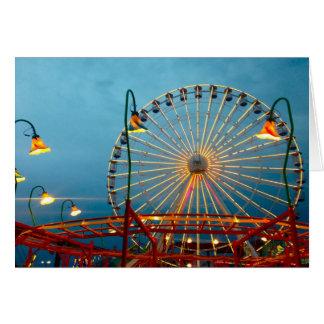 Cartão Roda de Ferris