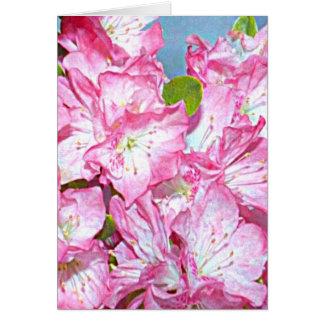 Cartão Rododendro de costa de Washington