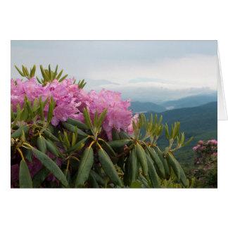 Cartão Rododendros